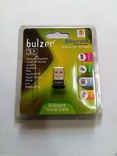 Bulzer Bluetooth Wireless USB 2.0 Dongle Adapter For Computer & Laptop(N-1021)