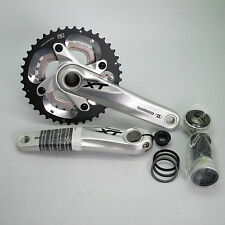 New Shimano XT FC-M785 10 Speed 40/28T 170mm Crankset w/BB (Silver)