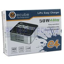 EV-Peak E4 50W 4A AC Fast Balance Charger for 2S-4S LiPo Battery