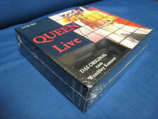 Queen Live Das Original zum Wembley Concert CD Box Sealed Copy Freddie Mercury