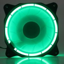 Eclipse Green Led Ultra Quiet Silent 12cm 120mm x 25mm 12V PC CPU Cooling fan