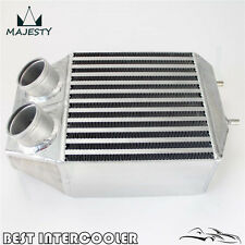 """Twin 2 rows Side Mount Intercooler 2.25"""" In/outlet For Renault 5 GT Turbo 85-91"""