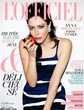 french magazine L'OFFICIEL N°954 anna mouglalis astrid berges frisbey nora arnez