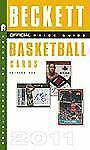 The Beckett Official Price Guide to Basketball Cards 2011, Edition #20-ExLibrary