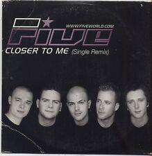 FIVE - Closer to me - CD SINGLE CARDSLEEVE 2001 USATO BUONE CONDIZIONI