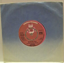 """7"""" VINYL SINGLE. Never My Love by The Addrisi Brothers. 1977. Buddah. BDS 468."""