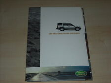 57489) Land Rover Discovery Pressemappe 10/2004