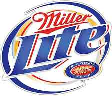 "Miller Light Beer Alcohol Car Bumper Window Locker Sticker Decal 5""X4"""