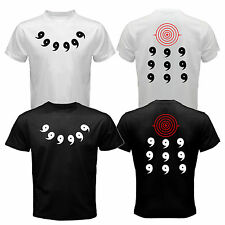 New Naruto Sage of the Six Path Rikudou Sennin Uchiha Sharingan Rinnegan T-shirt