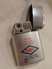 Vintage DAMCO ROTARY DRILLING EQUIPMENT Advertising Cigarette Lighter by RONEON