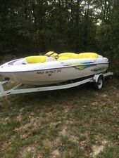 1997 Yamaha Exciter 220 Jet Boat with Trailer