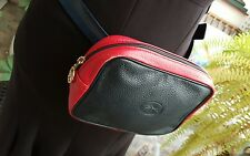 LONGCHAMP BANANE POCHETTE EN CUIR AUTHENTIQUE TBE