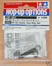 Tamiya 53931 DF-03 Center One-Way Set (DF03/DF03Ra/DF-03Ra/DF03MS), NIP