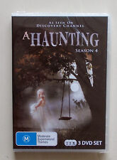 "Haunting, A  Season 4 DVD - 3 DISC""s New all regions  Free post"