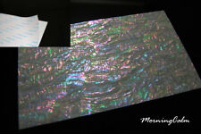 """Prism Abalone Wide Coated Adhesive Veneer Sheet (Shell Inlay """"Mother of Pearl"""")"""