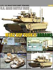 Tiger Model 1/72 U S Army M1A2 TUSK II ABRAMS #9601