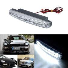 Hot White Car Light 8LED DRL Fog Driving Daylight Daytime Running LED Head Lamp
