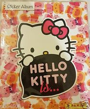 "HELLO KITTY ""IS"" ALBUM  & ALL THE STICKERS TO COMPLETE THE ALBUM ALL BRAND NEW"