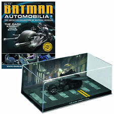 Batmobile Automobilia #11 Batman The Dark Knight Bat-Pod / Eaglemoss w/ Magazine