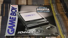 Nintendo Game Boy Advance SP Graphite Handheld System AGS-101 New Factory Sealed