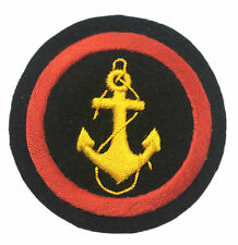 USSR Soviet Russian Army Navy Anchor Military Uniform Sleeve Hard Patch Badge