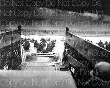 World War 2 WW2 WWII W W II photo soldiers Normandy 8X10 picture poster RP 4
