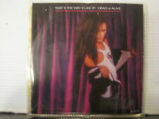 """Dead or Alive-That's the Way(I Like It)c/w Keep the Body Strong-7""""- Free UK Post"""