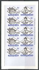 COUNTRY MUSIC FESTIVAL, THANKSGIVING ON NORFOLK ISLAND 2000 Sc 695a Booklet, MNH