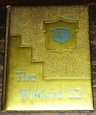 Cotton Valley Louisana High School Yearbook 1952 Wildcat