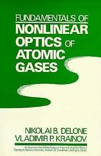 Fundamentals of Nonlinear Optics of Atomic Gases (Wiley Series in Pure-ExLibrary