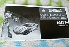 TRANSFORMERS DARK MOON DELUXE SIDESWIPE INSTRUCTION BOOKLET WALMART