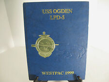 USS OGDEN LPD-5 WESTPAC DEPLOYMENT 1999 CRUISE BOOK Yearbook Tiger SBU Seals