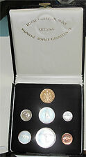 Canada 1967 Centennial Silver Proof 7- Coin Set $20 Gold Box & Case Original