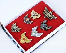 7 Pcs LOL League of Legends Badges Pins Collection In Stylish No Box