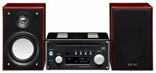 TEAC HR-X101 Hi-Res USB/DAC/CD/FM 3pc. Micro Component System $800 List ! HRX101