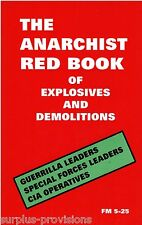 The Red Book of Explosives & Demolitions - Field Manual