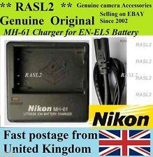 Genuine NIKON MH-61 Charger EN-EL5 CoolPix P510 P520 P500 P5000 P5100 P6000 S10