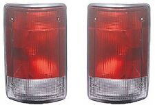 Fits 95 - 03 Ford Van Taillamp Taillight NEW Pair Set Both E150 E250 E350