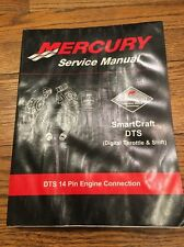 90-895072 Mercury Mercruiser SmartCraft DTS 14 Pin Service Manual