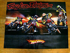 "Hot Wheels Troy Lee Designs Supermoto Team 07 Two-Sided Poster-21 3/4"" x 16 3/4"""