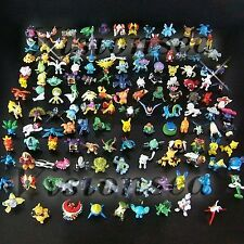 Lots 24 Pcs Pokemon Pikachu Monster Mini Plastic Figures Randomly Small Size ...
