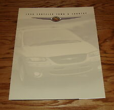 Original 1998 Chrysler Town & Country Foldout Sales Brochure 98