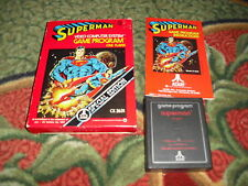 Superman Atari 2600 Game Super-man Super Man Complete CIB