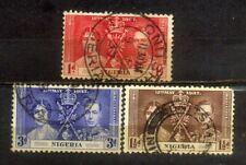 1937 Nigeria Coronation Complete Set