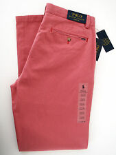 "new mens ralph lauren polo ""classic fit"" golf style chinos trousers W33 L32"