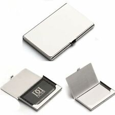 High quality Pocket Business Credit Debit Card Case Metal Box Holder Wallet UK