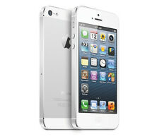 Apple iPhone 5 16 GB Blanco y Plateado (desbloqueado) Buenas Condiciones