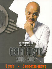 Geert Hoste : 5 one-man-shows 2003 - 2007 (5 DVD)