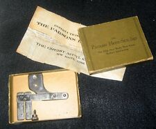 HEMSTITCHER - PARSONS by Greist & Company Vintage Rare Attachment with Box