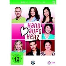 """HAND AUFS HERZ """"FOLGE 91-120 INKL.AUTOGRAMM"""" 3 DVD NEU"""